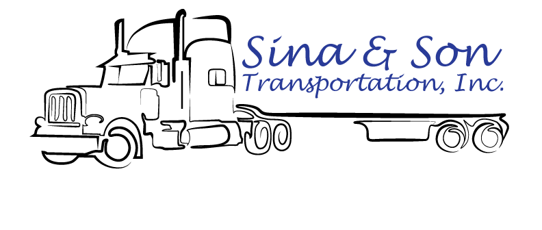Sina & Son Transportation, Inc. Logo